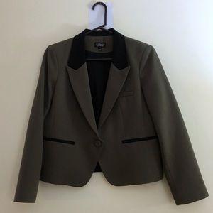 Topshop Colorblock Blazer Size 10